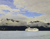 Cruiseing nell'Alaska Fotografie Stock Libere da Diritti