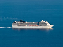 Cruiser - Adriatic sea Royalty Free Stock Images