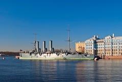 Cruiser Aurora. Stock Image