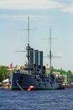 Cruiser Avrora, Saint Petersburg, Russia Royalty Free Stock Photos