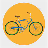 Cruiser Bicycle Stock Images