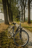 Cruiser Bike on a Dirt Path Royalty Free Stock Images