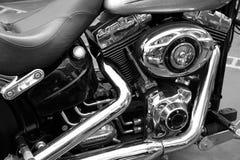 Cruiser bike engine Stock Image