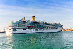 Cruiser Costa Mediterranea Stock Image