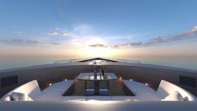Cruiser. 3D CG rendering of the cruiser Royalty Free Stock Photos