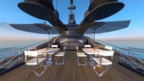 Cruiser. 3D CG rendering of the cruiser Stock Photography