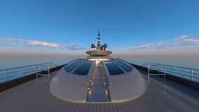 Cruiser. 3D CG rendering of the cruiser Royalty Free Stock Images