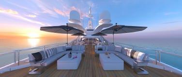 Cruiser. 3D CG rendering of the cruiser Stock Photos