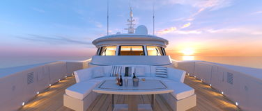 Cruiser. 3D CG rendering of the cruiser Stock Images