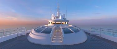 Cruiser. 3D CG rendering of the cruiser Stock Photo