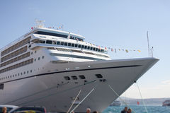 Cruiser embarkation Royalty Free Stock Photography