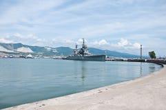 Free Cruiser Mikhail Kutuzov In Novorossiysk Stock Image - 20038781