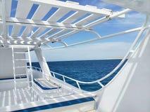 Cruises in het Middellandse-Zeegebied royalty-vrije stock foto's