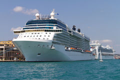 Cruises from Istanbul Port Stock Image