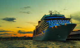Cruises Istanbul Port Bosporus Stock Photos