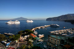 Cruises in Italy Royalty Free Stock Photo