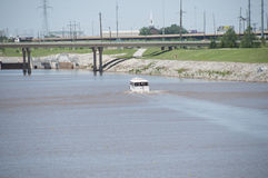 Cruises on the Oklahoma river Stock Photos