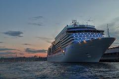 Cruises van de Haven van Istanboel Royalty-vrije Stock Foto