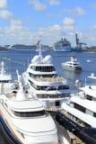 Cruiseschepen Royalty-vrije Stock Foto