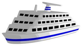 Cruiseschip Stock Fotografie
