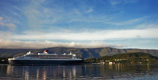 Cruiseschip Royalty-vrije Stock Foto's
