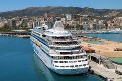 Cruiseschip AidaAura Stock Foto