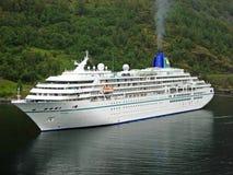Cruiseschip Amadea royalty-vrije stock foto's
