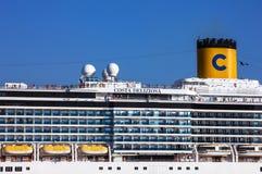 Cruiseschip Costa Deliziosa Stock Fotografie