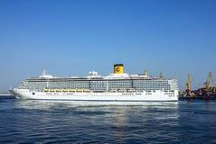 Cruiseschip Costa Deliziosa Stock Afbeeldingen