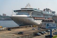Cruiseschip Diamond Princess Royalty-vrije Stock Foto