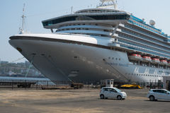 Cruiseschip Diamond Princess Stock Fotografie