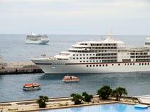 Cruiseschip in Europa Royalty-vrije Stock Fotografie