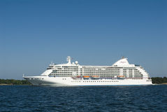 Cruiseship世界七大洋航海者 免版税图库摄影
