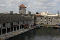 Cruiseship终端哈瓦那 免版税库存图片