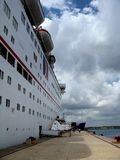 Cruiseship Lizenzfreies Stockfoto