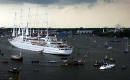 Cruiseship 库存照片