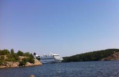 Cruiseship Fotografering för Bildbyråer