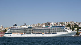 Cruiseship Celebrity Equinox Stock Image
