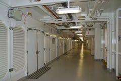 Cruiseship Corridor Stock Images