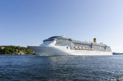 Cruiseship Costa Atlantica Stock Photography