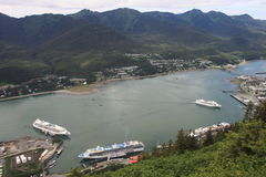 cruiseship Juneau Zdjęcie Royalty Free