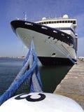 Cruiseship in Palma Stock Images