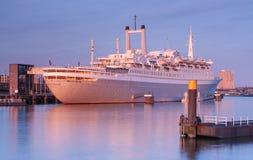 Cruiseship SS Rotterdam Stock Photos