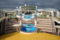 Cruiseship Swimming Pool Stock Photos