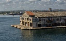 Cruiseship terminal Arkivfoto