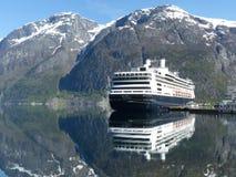 Cruiseship x 2 Royaltyfria Foton