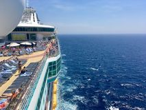 Cruisevakantie royalty-vrije stock foto's