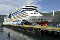Cruisevoering AIDALuna Royalty-vrije Stock Fotografie