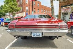 Cruisin на главной улице в Манчестере Коннектикуте стоковое изображение rf