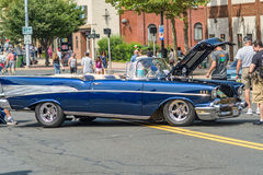 Cruisin on main street in manchester connecticut Royalty Free Stock Photography
